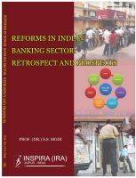 Book 1: REFORMS IN INDIAN BANKING SECTOR RETROSPECT AND PROSPECTS
